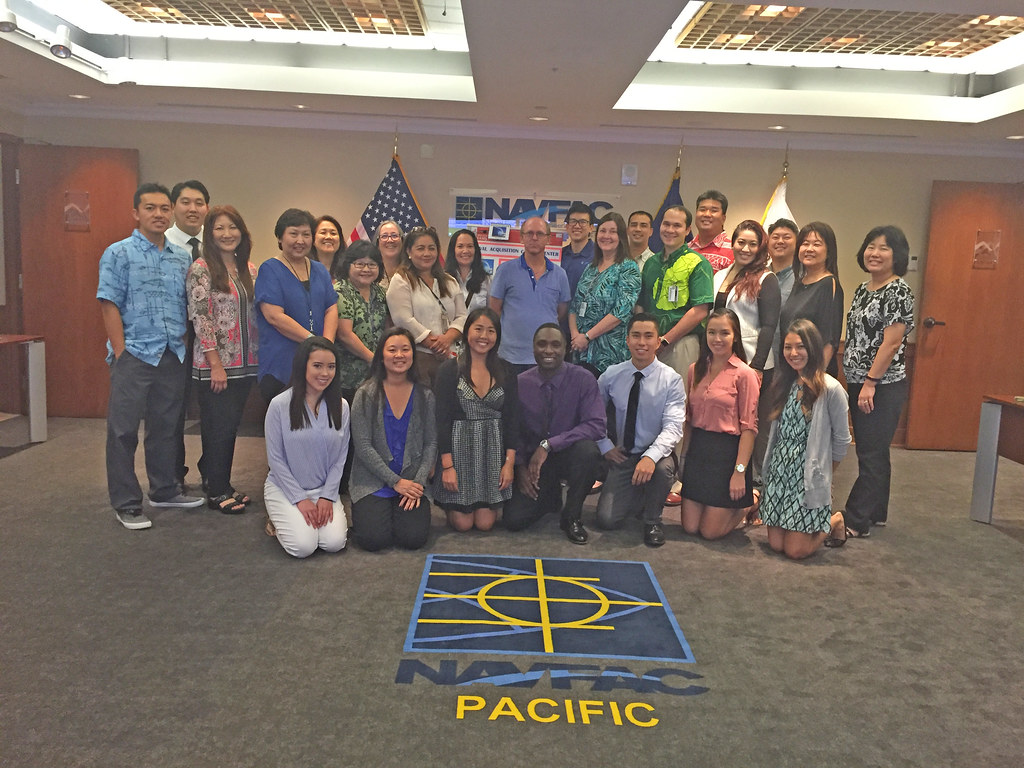 """NAVFAC Pacific Acquisition """"In the Spotlight"""" Event 