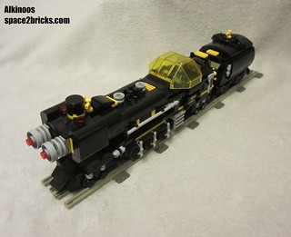 space train Blacktron p7 | by Alkinoos_38
