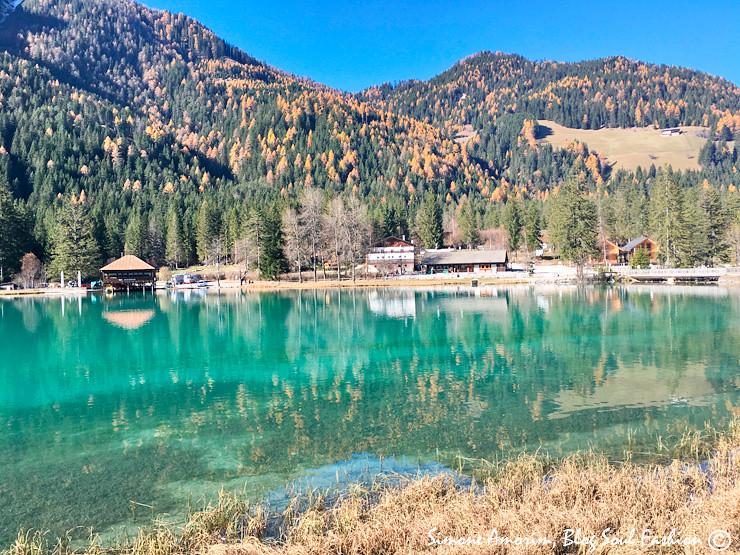 A chegada ao lago de Dobbiaco é assim! Quel ta essa vista?