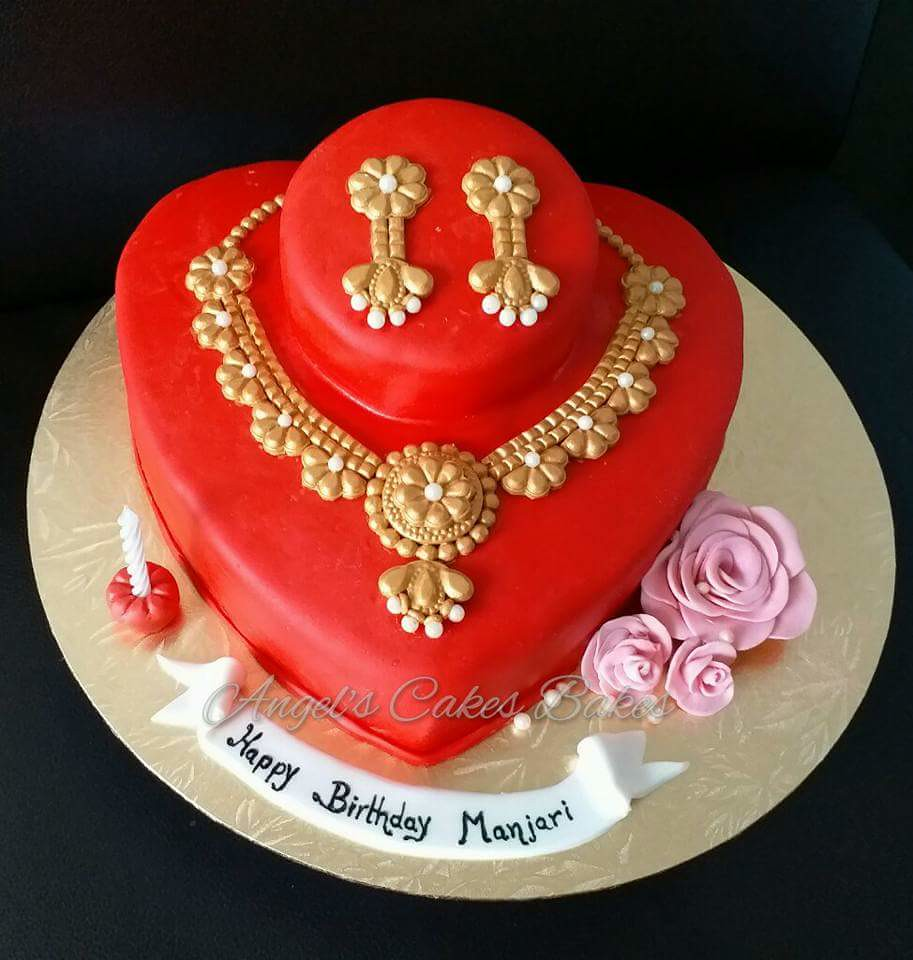 Jewellery Cake By Jyoti Kumbhar Of Angels Cakes Bakes Flickr