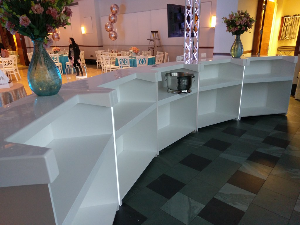 Stylish bars with custom fiberglass tops perfect for koshe… | Flickr