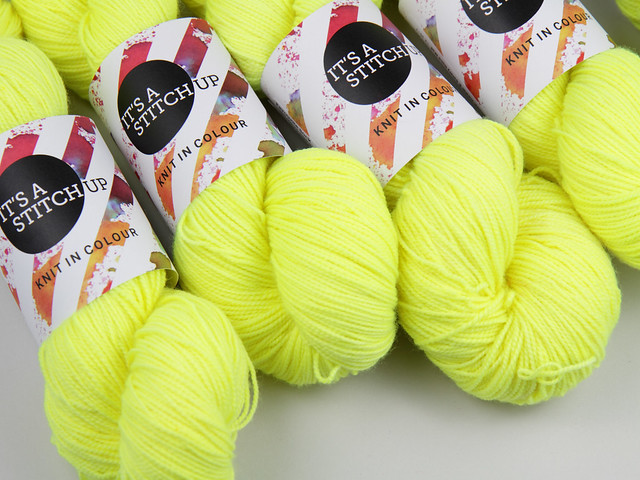 Favourite Sock – pure merino superwash wool 4 ply/sock hand-dyed yarn 100g – 'Health and Safety Gone Mad'