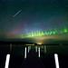 Night Sky Life Over The Lake