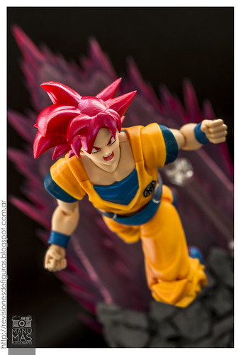 Son Goku Super Saiyan God | by manumasfotografo
