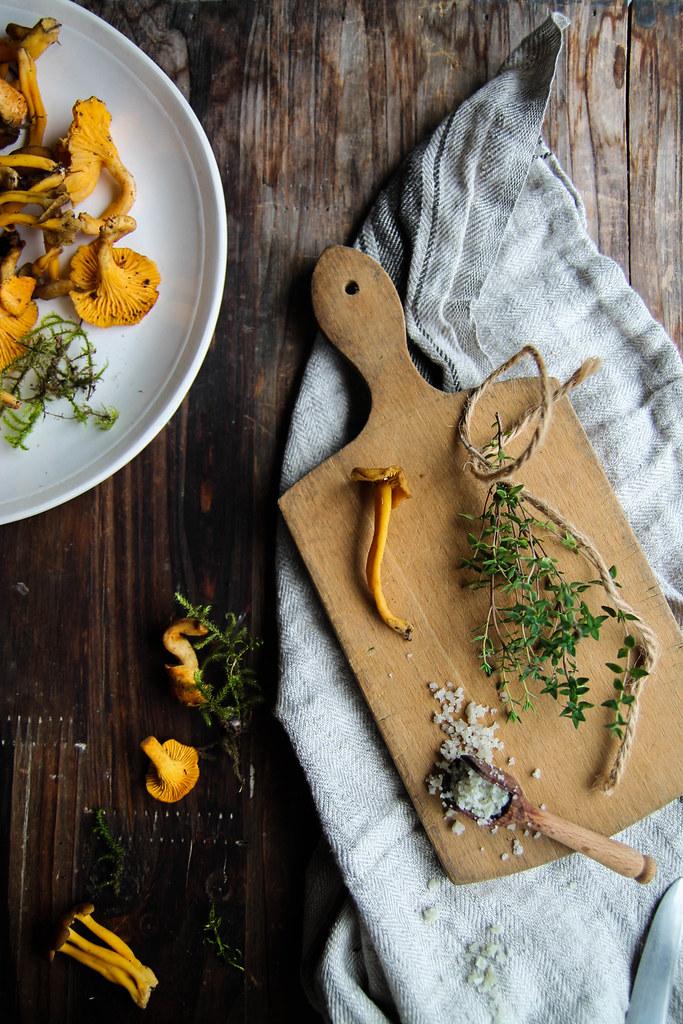 Gratin de pommes de terre aux champignons recette