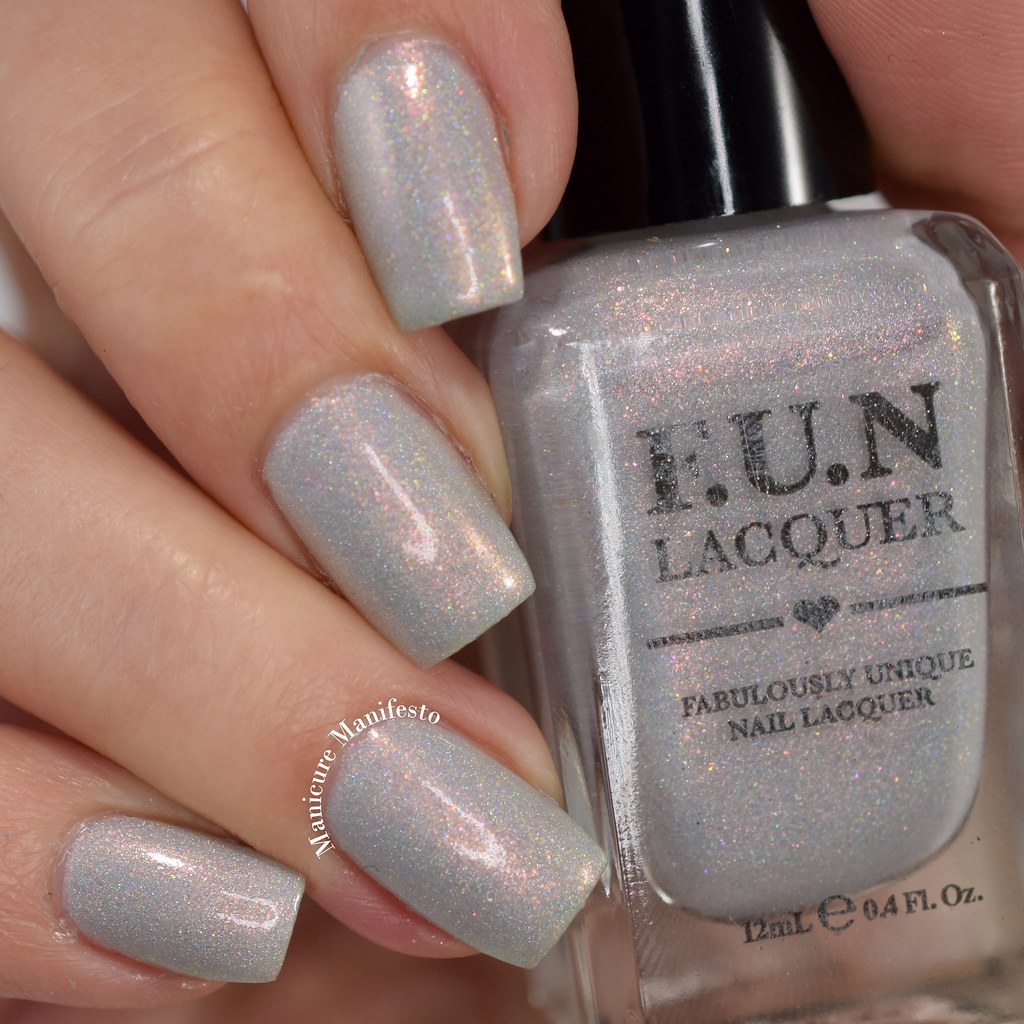 FUN Lacquer Flashing Lights swatch