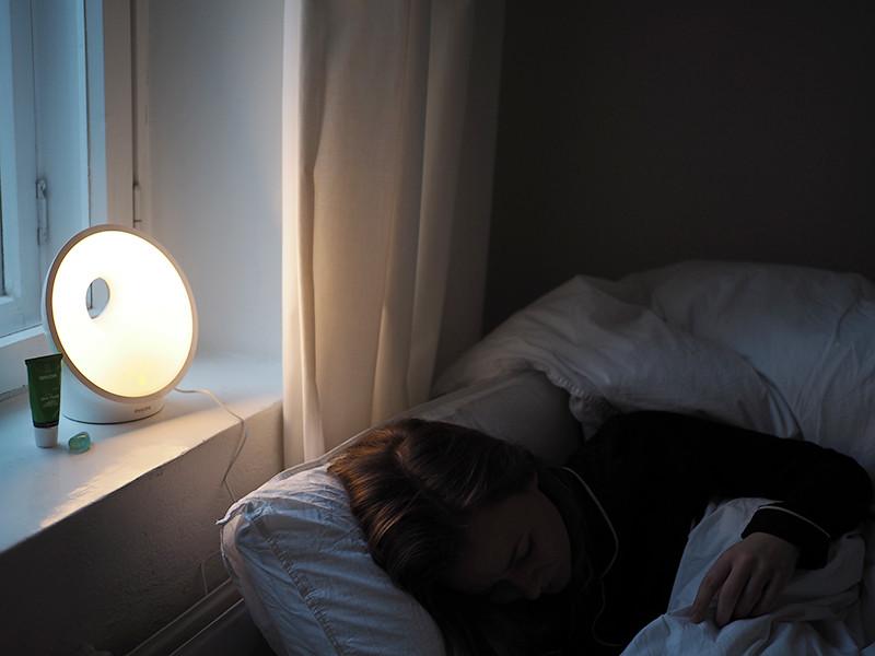 Herätysvalolamppu
