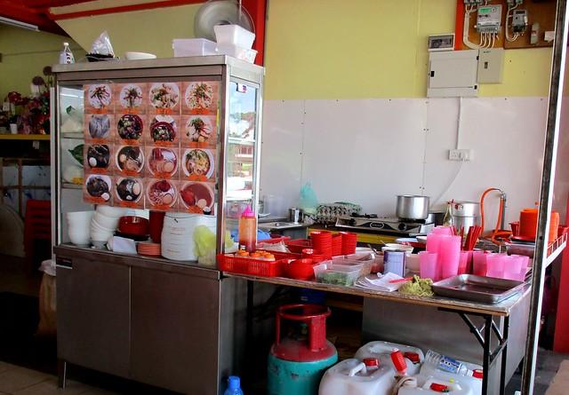 Ah Kiet Restaurant kampua mee stall