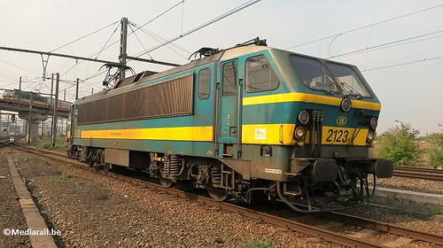 SNCB Class 2123 at Brussels-Forêt depot - 12 August 2015 | by Mediarail.be