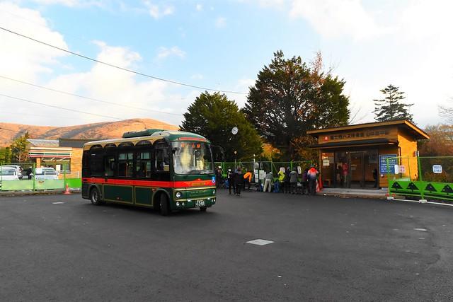 山中湖・平野バス停