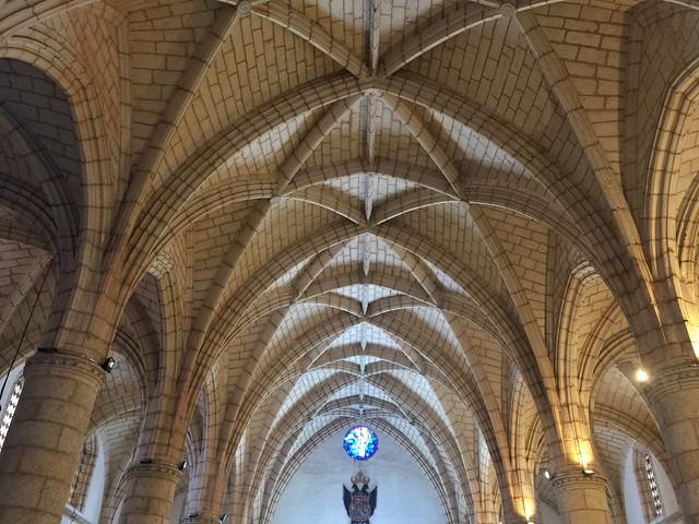Bóveda de crucería de la catedral de Santo Domingo (República Dominicana)