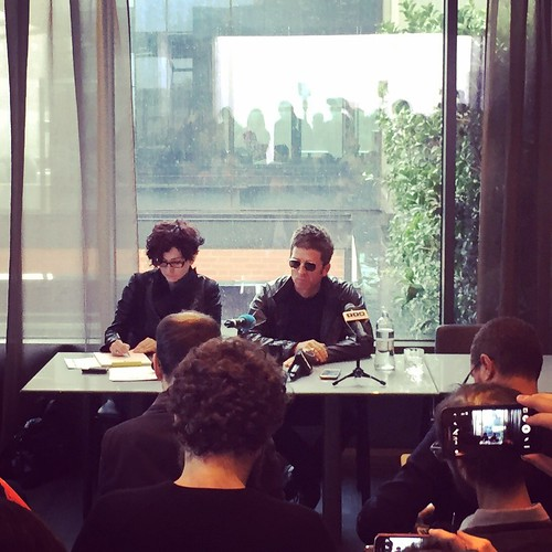 Noel Gallagher - press conference | by lovlou
