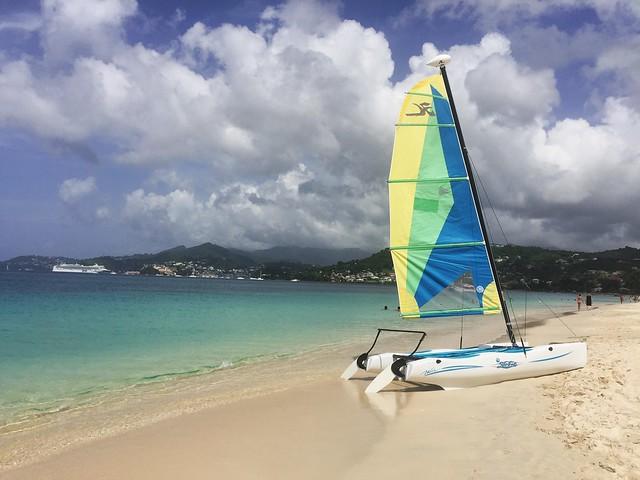 Grande Anse Beach en Granada (Islas del Caribe en crucero Pullmantur)