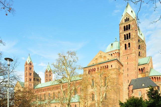 Kaiser- und Mariendom zu Speyer ... Brigitte Stolle, Mannheim ... November 2017