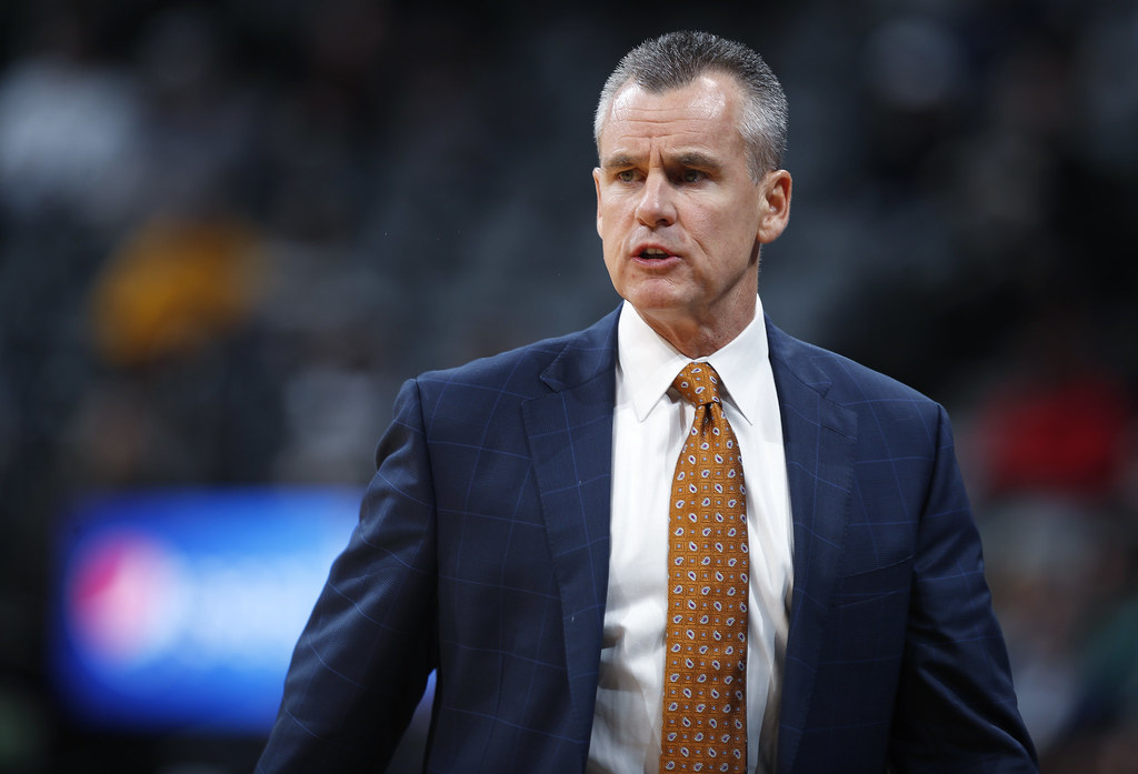 雷霆教頭Billy Donovan。(達志影像資料照)