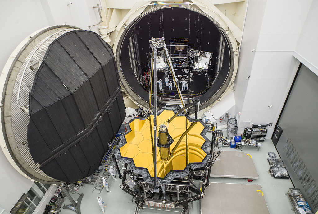 NASA's James Webb Space Telescope combined science instruments and optical element