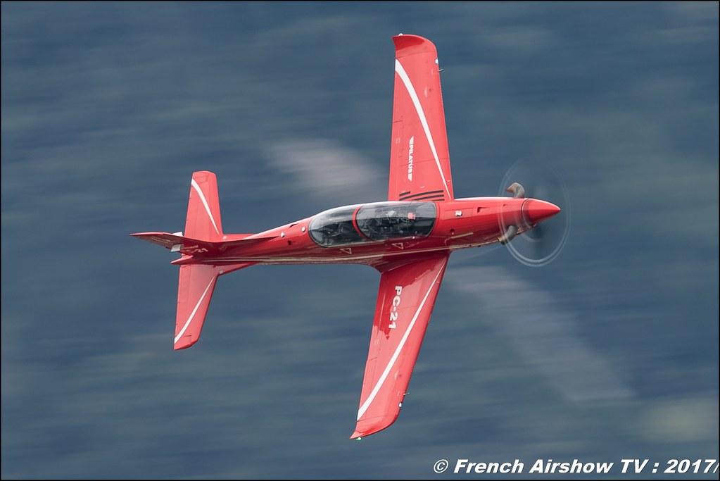 Pilatus PC-21 - HB-HZD,, avion d'entraînement suisse , Breitling Sion Air Show 2017 , sion airshow , montagne , Alpes suisse , Canton du Valais , Meeting Aerien 2017