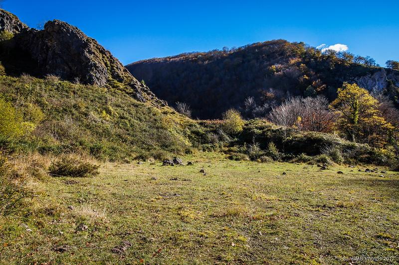 Cantera de la presa del Lago Lareo