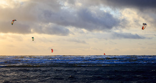 A collection of kite surfers | by Anders Bromell