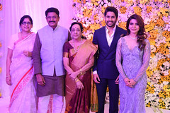 NagaChaitanya - Samantha's Wedding Reception Stills
