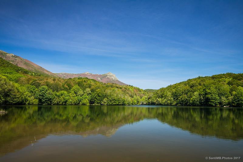 Pantano de Santa Fe de Montseny