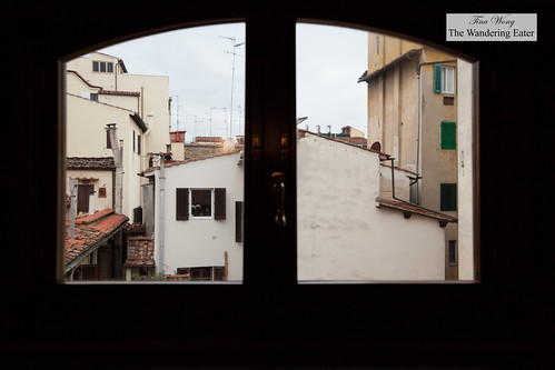 View from the first floor of Canto del Giglio Rosso | by thewanderingeater