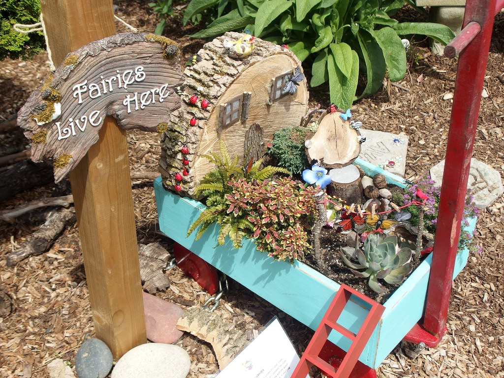 Fairy Garden - Created by Master Gardener Kathy Wise Urban… | Flickr