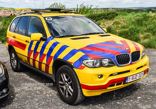 Belgium Ambulance Service BMW X5 1-GJZ-221 | by policest1100