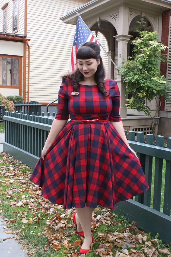 plaid dress pretty dress company