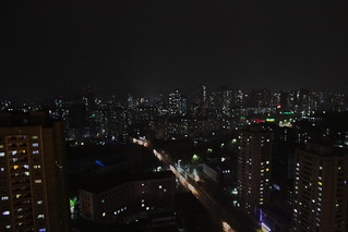 Nightly view from the Koryo Hotel, Pyongyang | by Timon91