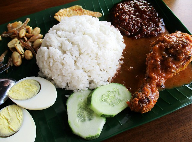 Warong Cafe nasi lemak with ayam percik 2