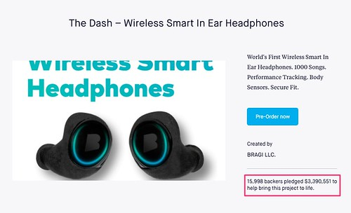 The_Dash_–_Wireless_Smart_In_Ear_Headphones_by_BRAGI_LLC__—_Kickstarter | by johnnydong