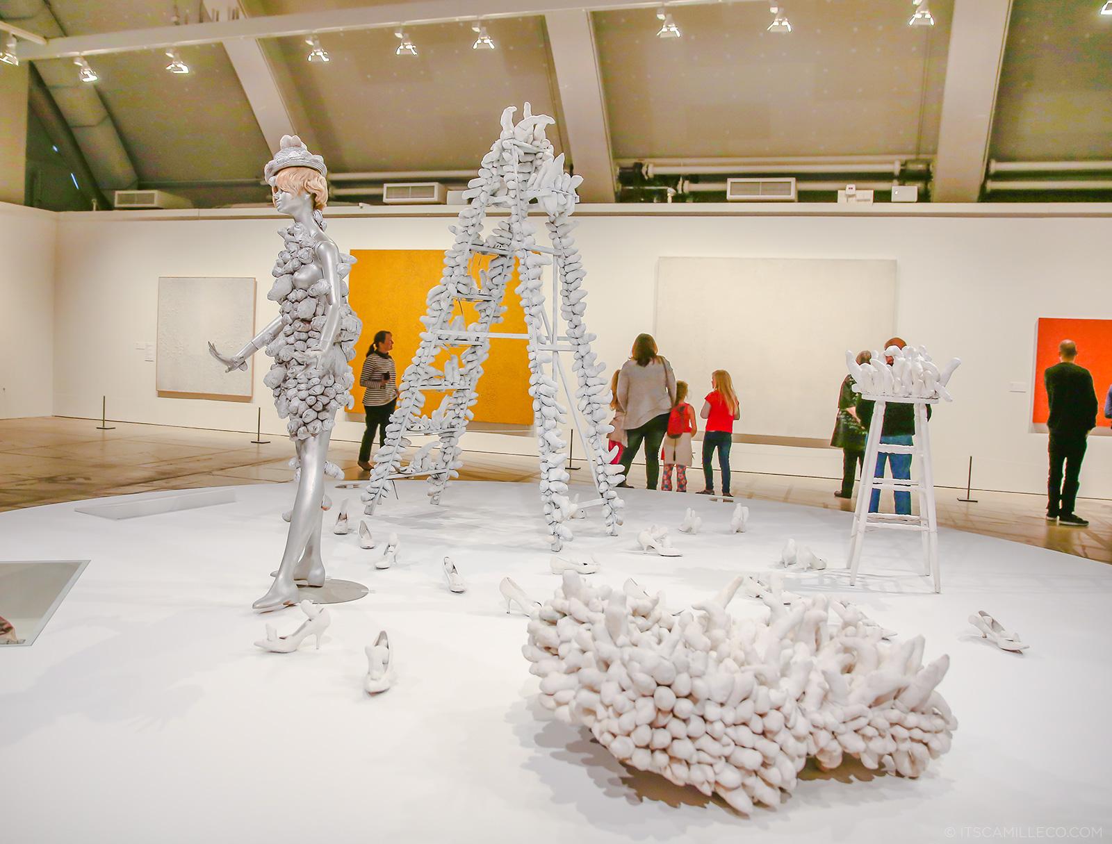 Yayoi Kusama exhibit