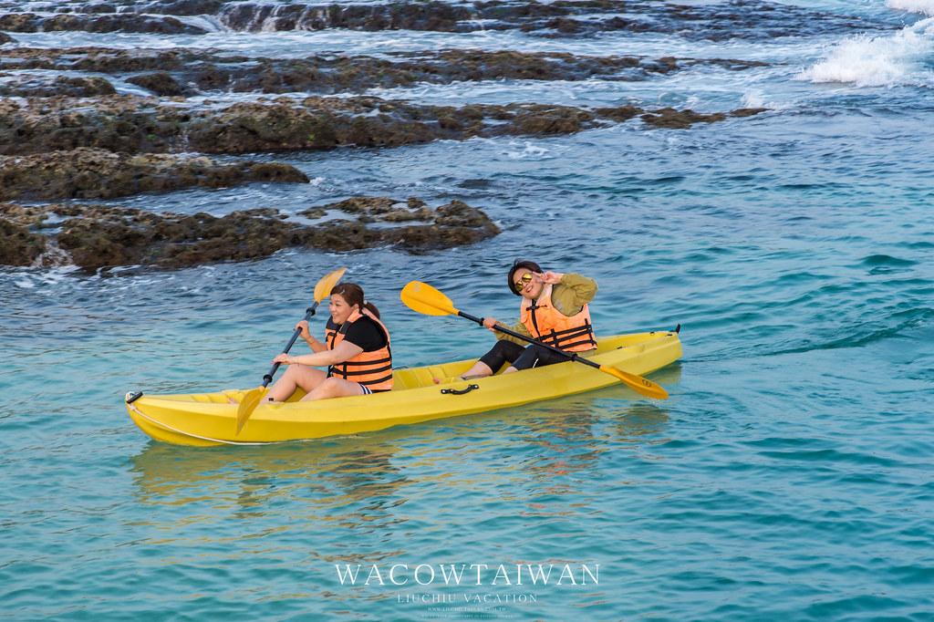 小琉球旅遊必玩行程獨木舟