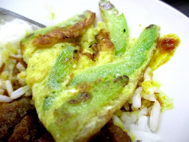 My Chef Restaurant bitter gourd omelette 2