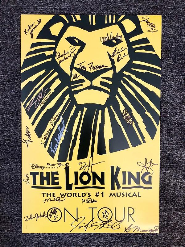 Lion King Tour Update?