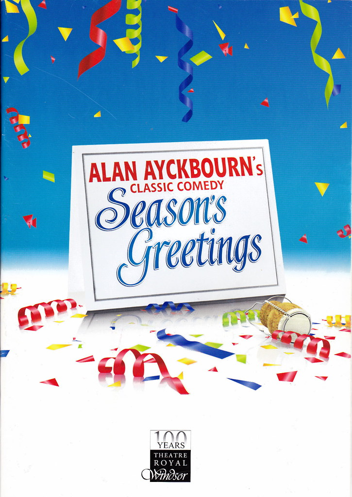 Alan ayckbourn seasons greetings seen at the theatre ro flickr by davidshort alan ayckbourn seasons greetings by davidshort m4hsunfo