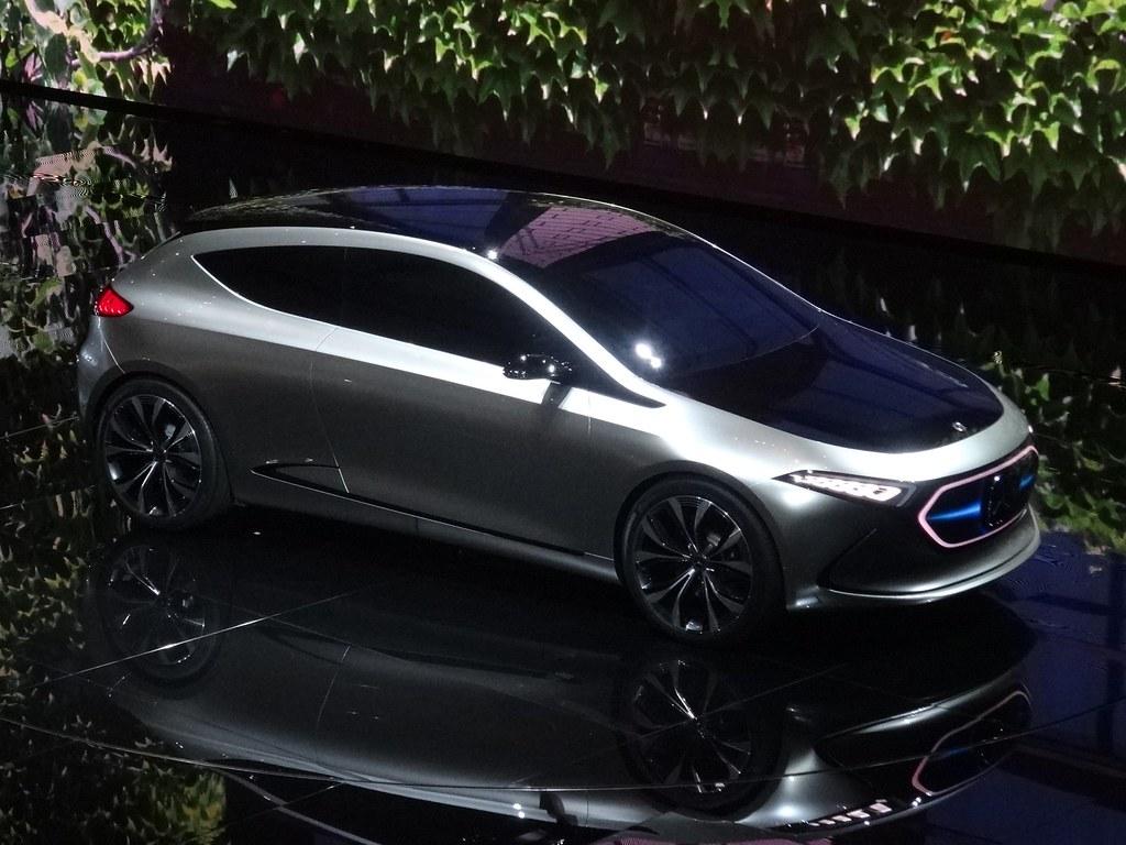 IAA 2017: Mercedes-Benz Concept EQA | EQ will be Mercedes-Be… | Flickr
