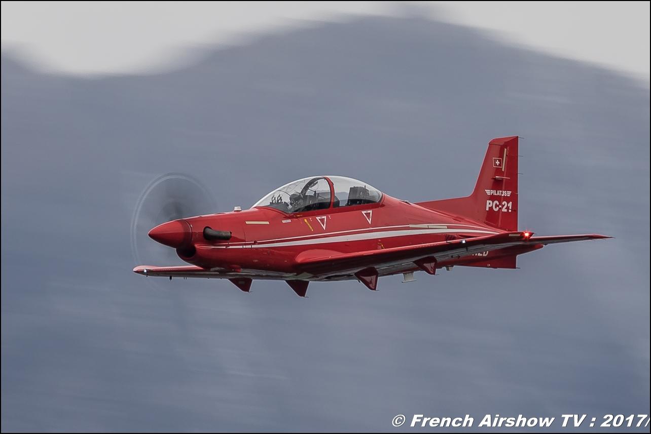 Pilatus PC-21 , avion d'entraînement suisse , HB-HZD, , Breitling Sion Air Show 2017 , sion airshow , montagne , Alpes suisse , Canton du Valais , Meeting Aerien 2017
