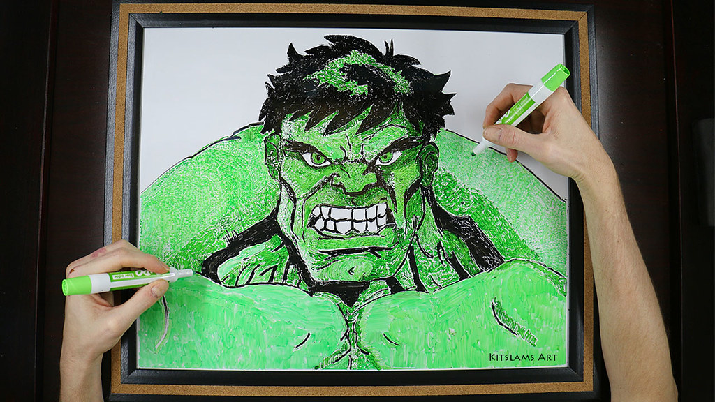 ... Incredible Hulk Drawing | By Kitslams Art