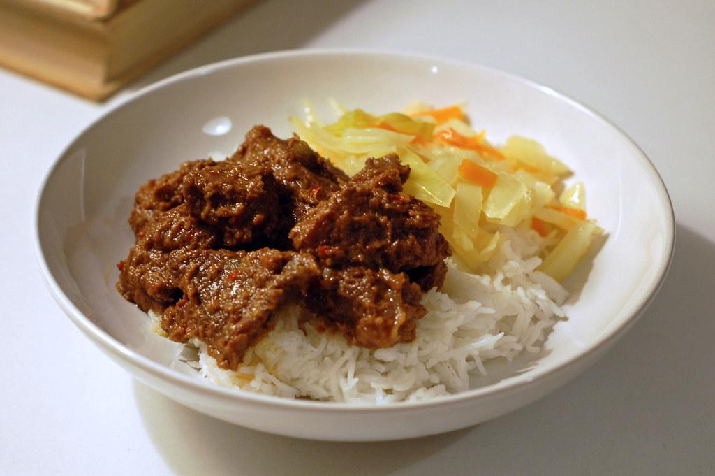 牛肉做的Rendang。圖片來源:Su-Lin(CC BY-NC-ND 2.0)。