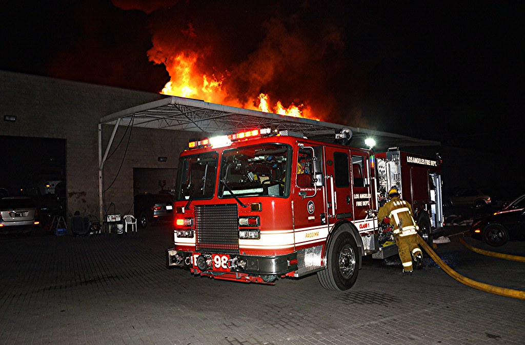 pacoima fire stopped in its tracks pacoima quick teamwork flickr. Black Bedroom Furniture Sets. Home Design Ideas