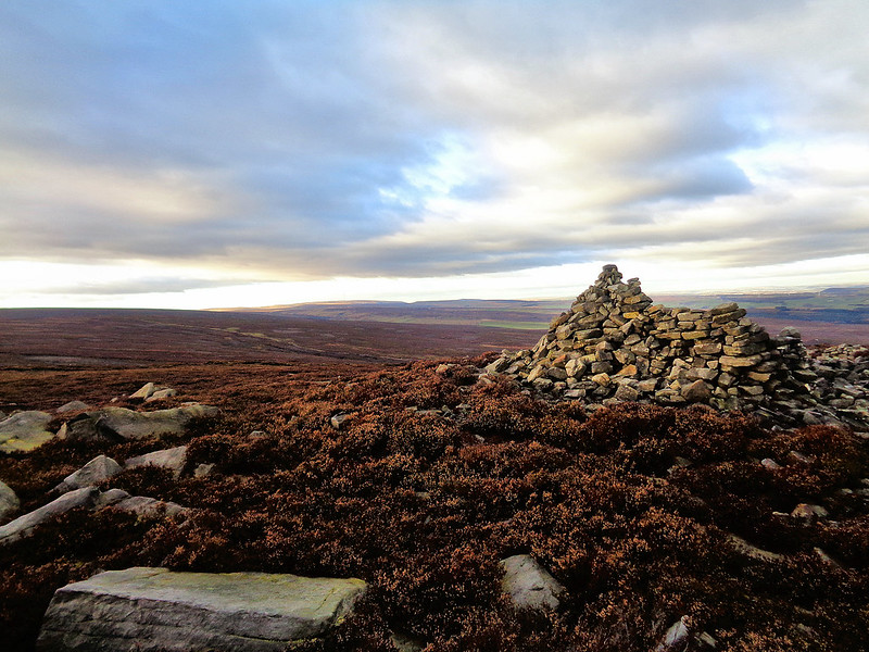 The Pike Lowe cairn