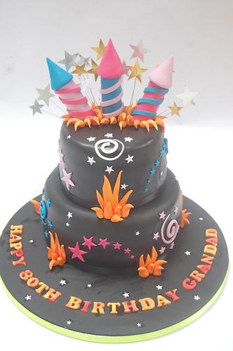 Super Bonfire Night Firework Cake Beautiful Birthday Cakes Funny Birthday Cards Online Bapapcheapnameinfo