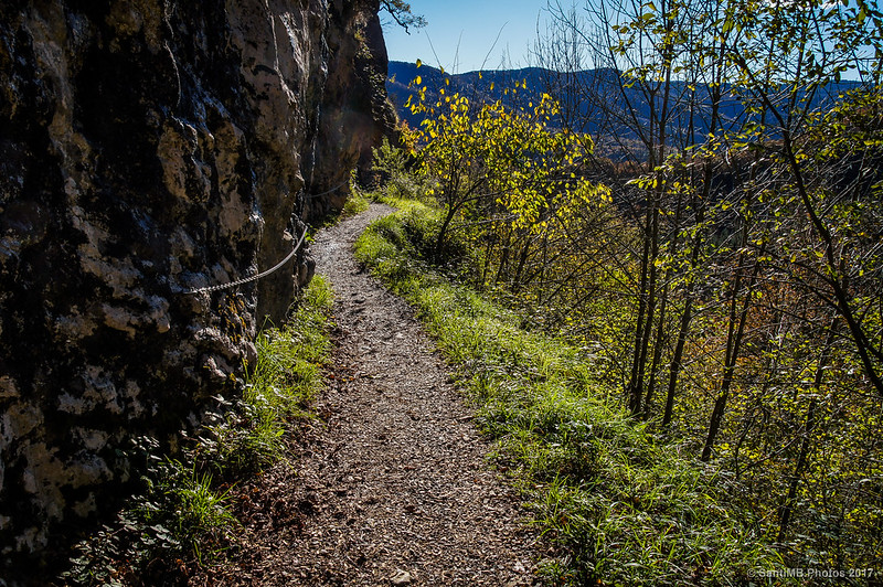 Camino del Lago Lareo de vuelta a Lizarrusti