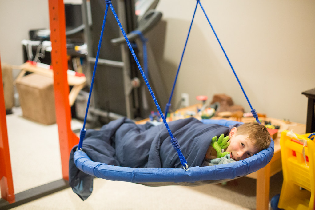 Costco swing in the basement