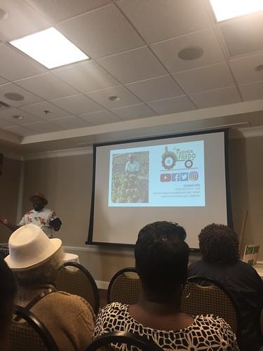 Frednando Jackson presenting