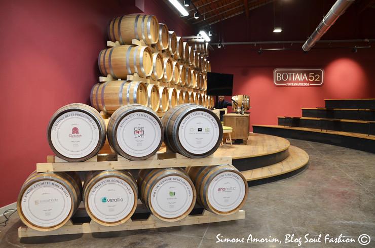 Bottaia 52, por aqui se faz degustação e se aprende muito sobre vinhos.