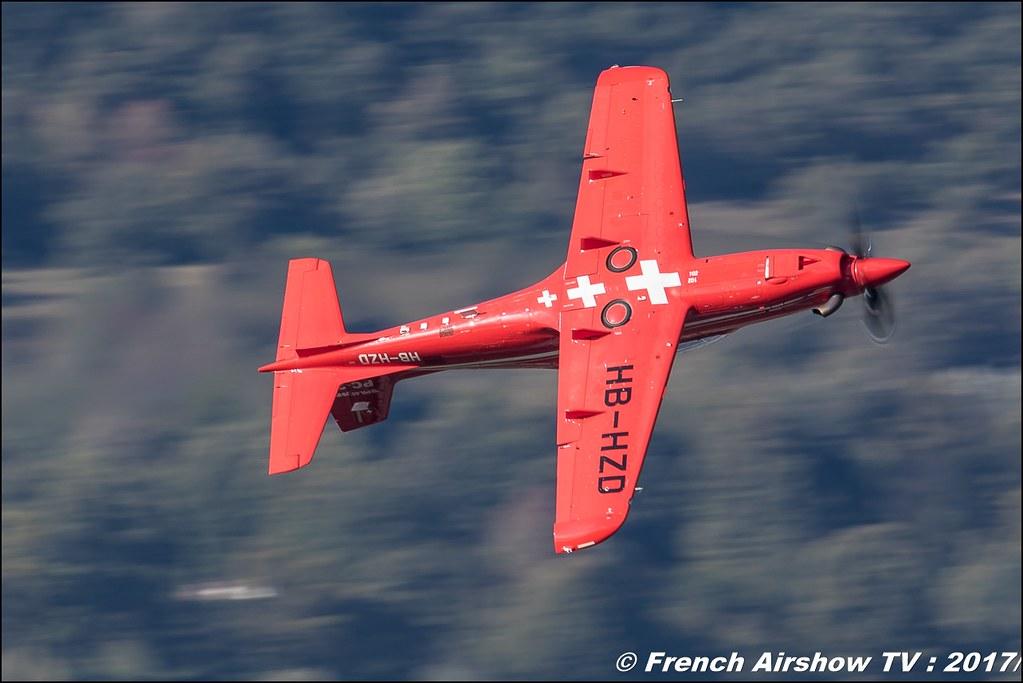Pilatus PC-21 , avion d'entraînement suisse , Breitling Sion Air Show 2017 , sion airshow , montagne , Alpes suisse , Canton du Valais , Meeting Aerien 2017