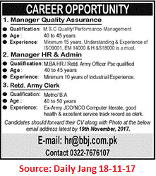 Company,Manager Quality Assurance,Lahore
